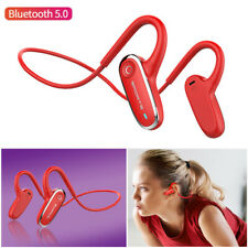 Bone Conduction Bluetooth Headset Earphone Headphone with Mic for Apple Android