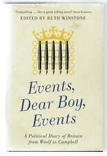 Ruth Winstone (editor), Events, Dear Boy, Events [ Political Diaries ]  ST 11