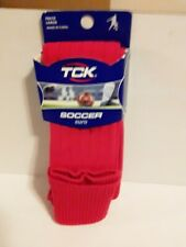 "TCK European Style Solid Soccer Socks in Nylon side "" L"""