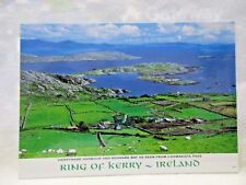 Ireland Postcard Ring of Kerry Derrynane Harbour and Kenmare Bay Coomakista Pass