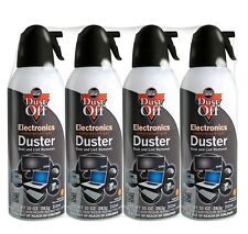Falcon Dust-Off - Compressed Computer Gas Duster Canned Air, 10 oz - 4 Packs