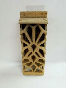 "Vintage Ceramic Gas Stove Insert Heating Element Grate Brick 7 3/8""x 2 7/8""x2"""
