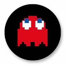 Magnet Aimant Frigo Ø38mm Retro Game Arcade Game Vintage Jeux 80s Pacman Blinky