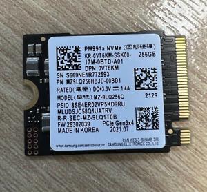 NVME SSD M.2 256GB   SAMSUNG PM991A   MZ9LQ256HBJD-00BD1   0VT6KM
