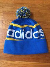 Adidas Originals Mercer Ballie Pom Beanie Winter Hat Cap Blue NEW Snowboarding