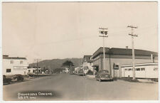 BROOKINGS OREGON RPPC RP Real Photo Postcard CURRY COUNTY Pacific Northwest OR