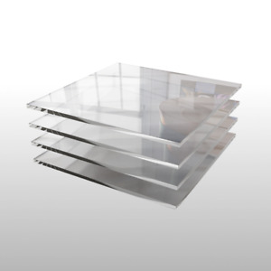 Acrylglas Zuschnitt Plexiglas Zuschnitt 2-8mm Platte//Scheibe klar//transparent 3 mm, 1200 x 700 mm