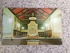 POSTCARD UNUSED FLORIDA, ST. AUGUSTINE ROMAN CATHOLIC CATHEDRAL