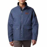 Columbia Men's Loma Vista Insulated Jacket Dark Mountain Blue Size Small