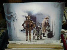 The Empire Strikes Back, orig glossy 1980 Lc #8 (C3Po, R2D2, in tunnel)