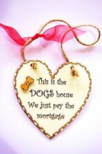 Handmade Dog Decorative Wall Plaques