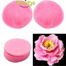 Clay 3D Flower Petal Leaf Silicone Fondant Mould Cake Decor Chocolate Baking 84L