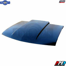 "94-04 S10 Sonoma Blazer 2"" Raised Straight Cowl Induction Style Steel Hood - AMD"