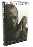 Sidney Poitier THE MEASURE OF A MAN  1st Edition 1st Printing