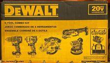 Dewalt DCK560D1M1 20V Brushless 5 Tool Combo Kit NEW - Free Shipping!