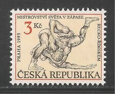 Czechoslovakia #2961 (A1090) VF MINT NH - 1995 3k World Wrestling Championships