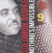 Solomon Burke Nothing's Impossible CD NEW SEALED 2010
