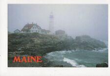Portland Head Lighthouse Maine  Postcard USA 403a ^