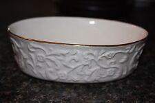 Small Lenox China Oval Candy Dish 2002