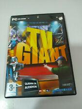TV GIANT GUERRA DE AUDIENCIAS - JUEGO PC CD-ROM ESPAÑOL - AM
