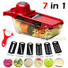 Manual Vegetable Slicer Potato Fruit Cutter Stainless Steel Mandoline Kitchen