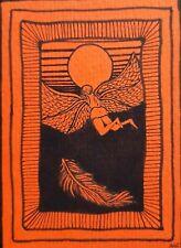 More details for aceo original drawing. ink.signed hf. greek mythology. icarus. detail. sun