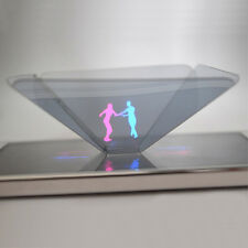 3D Holographic Display Pyramid Projector for 3.5''~6.5'' Smart Cell Phone HOT