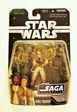 Hasbro Star Wars Saga Collection Rebel Trooper 3.75 Figure