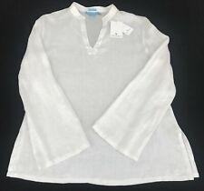 Island Company Women's Mandarin Linen Beach Tunic - Retail $145