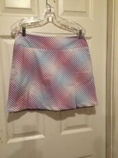 NIKE GOLF PLAID SKIRT SIZE 8 WITH SHORTS ATTACHED NWOT. Nice