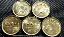 2006 PAKISTAN Two Rupee Brass coin, 5pcs dia22.5mm UNC(+FREE 1 coin)#D6220