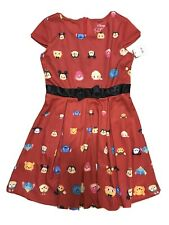 Disney TSUM TSUM Children's Character Mickey Red Dress Girls Size L (10-12)