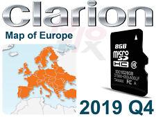 Clarion nx302e GPS Mappe Update 2019 Europe MicroSD Scheda di memoria 8gb