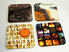 Jon Bon Jovi Album Cover Drinks Coaster Set #3
