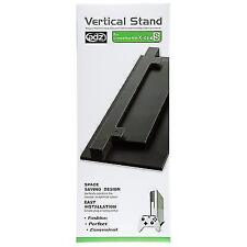 Vented Vertical Stand Dock Holder for Microsoft Xbox One S Slim Console UK