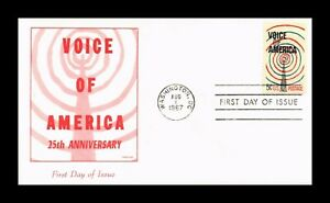 DR JIM STAMPS US VOICE OF AMERICA ANNIVERSARY FIRST DAY ISSUE PRESTIGE COVER