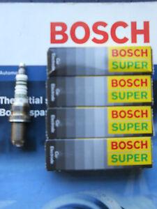 4x Bosch FGR8KQE Spark Plugs equiv BKR5EQUB fit Honda Accord, Civic, Jeep