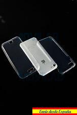 Funda carcasa doble, delantera y trasera gel / TPU  Iphone 7 transparente 360