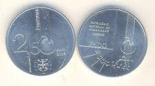 2,5 euros conmemorativa 2015 Portugal fado