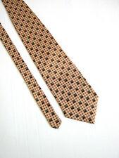100% SETA Cravatta Tie VINTAGE 80 Originale 100% SETA SILK