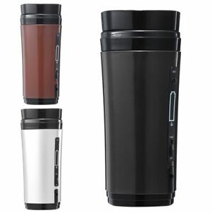 USB Heating Self Stirring Auto Mixing Tea Coffee Cup Mug Warmer with Lid