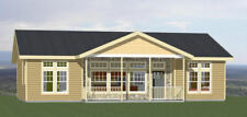 46x30 House -- 3 Bedroom 2 Bath -- PDF Floor Plan -- 1,338 sq ft -- Model 1A