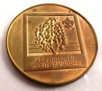 1973 NATIONAL SCOUT JAMBOREE BRONZE COIN