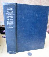 FRESHWATER INVERTEBRATES Of UNITED STATES,1953,Robert W. Pennak,Illust