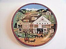Charles Wysocki Peppercricket Farms Decorative Plate Primitive Style 1993
