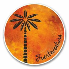 2 x Fuerteventura Vinyl Sticker Laptop Travel Luggage Car #6318