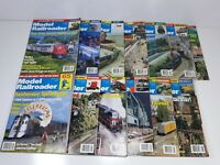 Model Railroader Magazine 1999 All 12 Issues + Holiday Decent Condition 1 Loose
