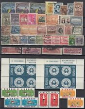 ECUADOR ☀ collection / lot of 39 used & 16 MNH stamps ☀ see all scan