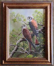 "Stephen Leed ""Kestrals"" Framed Original Oil Painting 1991"