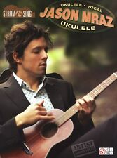 Jason Mraz Strum & Sing Ukulele Learn to Play Pop Rock UKE Music Book